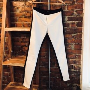 Topshop black and white pant